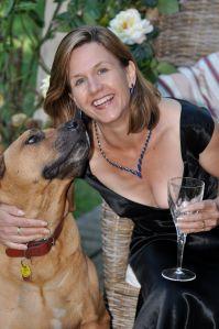 Beverley Eikli and her Rhodesian Ridgeback Homer (2)