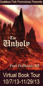 VBT The Unholy Book Cover Banner copy (2)