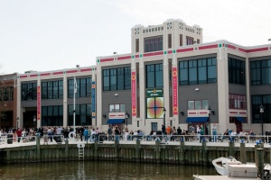 Torpedo Factory Art Center on the waterfront